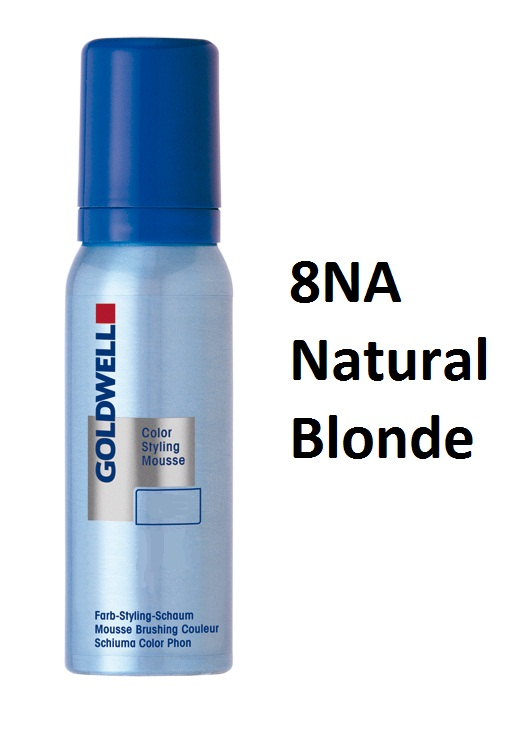 goldwell color styling mousse 8na natural blonde 75 ml
